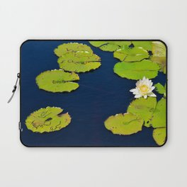 Dark Blue Pond by Teresa Thompson Laptop Sleeve