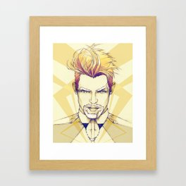 Be COOL Framed Art Print