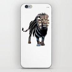 Lion spy II mission logo noir urban fashion culture Jacob's 1968 Paris Agency iPhone & iPod Skin