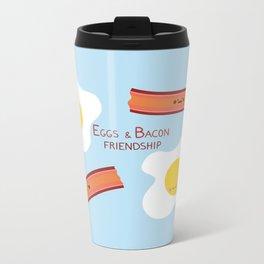 Eggs & Bacon Friendship Metal Travel Mug
