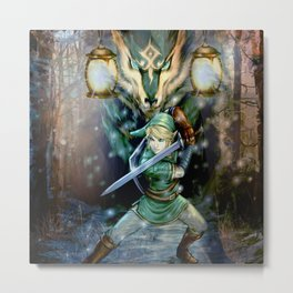 Legend Of Zelda Metal Print