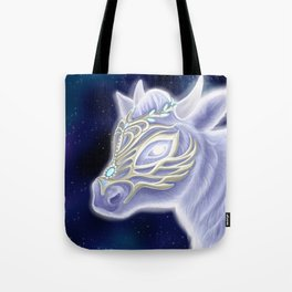A Noble Wintacow Tote Bag