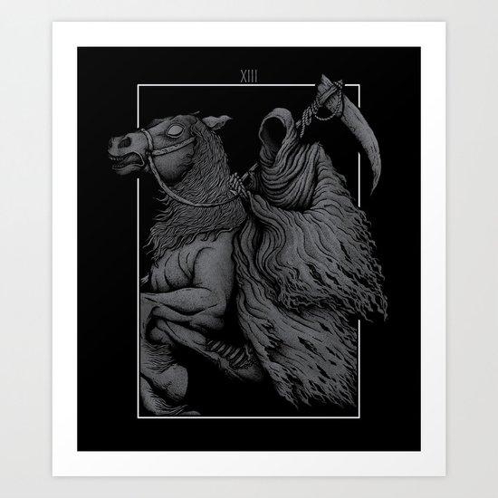 The Death Art Print