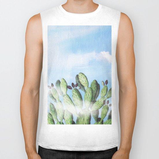 Cactus Heaven Biker Tank