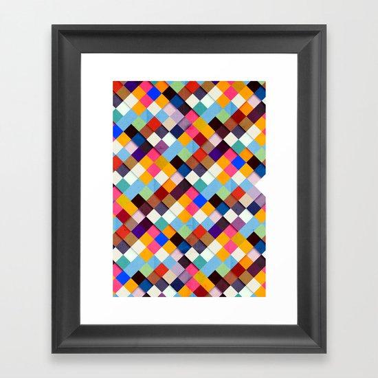 Pass this Bold Framed Art Print