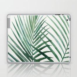 Emerald Palm Fronds Watercolor Laptop & iPad Skin