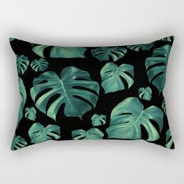 Tropical Monstera Pattern #4 #tropical #decor #art #society6 Rectangular Pillow