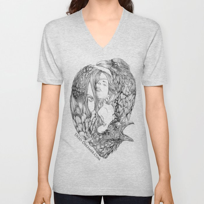 To Dream is to Die - Line Unisex V-Neck