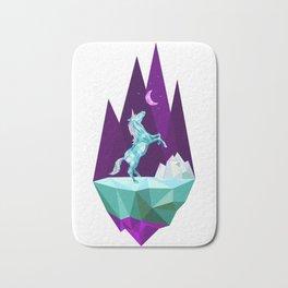 unicorn stand lonely Bath Mat