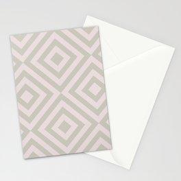 MONO:CHROMA Geometrica Earthy Pink Stationery Cards