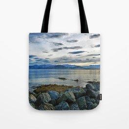 Dusk over South Bay, New Zealand Tote Bag