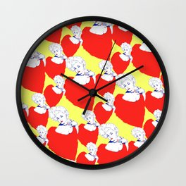 Stone Cold Fox - 'She Shoulda Said No' Poster Pattern Wall Clock