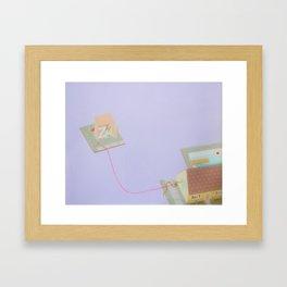 Lavender House Framed Art Print