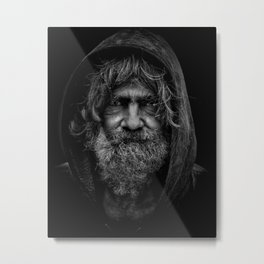 Homeless Metal Print