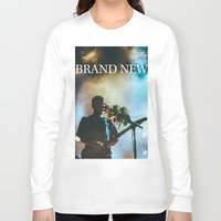 brand new Long Sleeve T-shirts featuring Brand New by ICANWASHAWAY