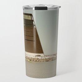 Oblique architecture Travel Mug