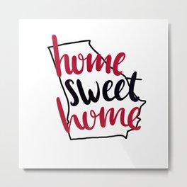 Home Sweet Home Georgia Metal Print
