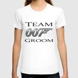 007 Team Groom T-shirt