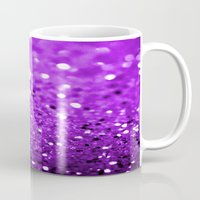 glitter Mugs featuring Glitter by Brian Raggatt