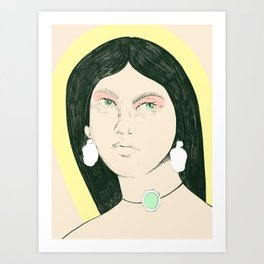 Cleopatra of Egypt Art Print