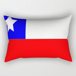 Flag of Chile Rectangular Pillow