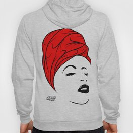Lady Wrap (red) Hoody
