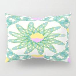 Tropical Pastel Hearts Pillow Sham