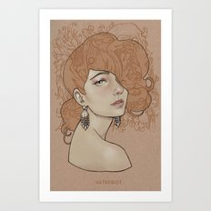 You'll never beat James Jean Art Print