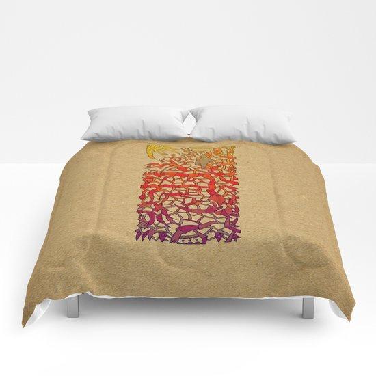 - fishermen & shellfish - Comforters