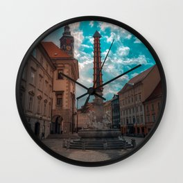 Beautiful Ljubljana Wall Clock