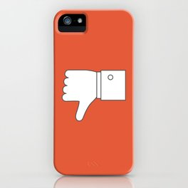 Thumbs down - Influencer iPhone Case