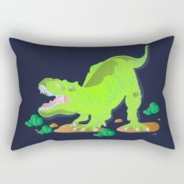 Dino - Bright Rectangular Pillow