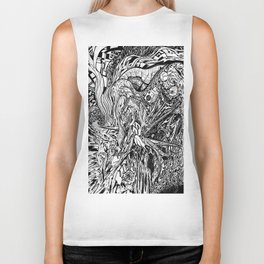 The Scream Biker Tank