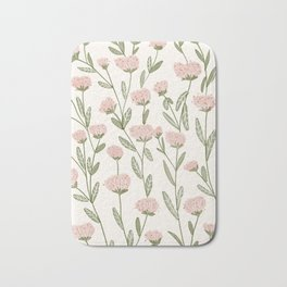 Rose Garden Pattern Badematte