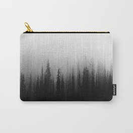 Black Ombre Misty Forest Carry-All Pouch