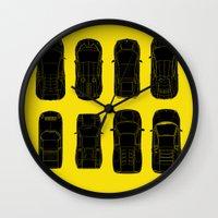 lamborghini Wall Clocks featuring Lamborghini Family by Salmanorguk