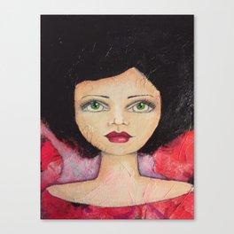Bella SASS Girl - Cyndi - SASS = STRONG and SUPER SMART Canvas Print