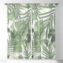 Tropical Jungle Leaves Pattern #12 #tropical #decor #art #society6 by anitabellajantz