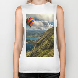 Snowdon Hot Air Balloon Biker Tank