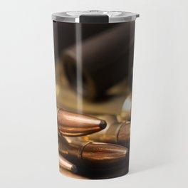 Bullets and Rifle Barrel Travel Mug