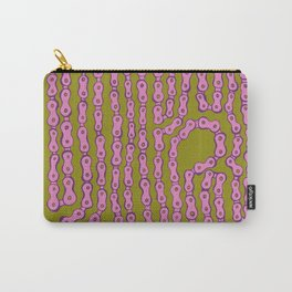 Bike Chain - Puke Pink Carry-All Pouch