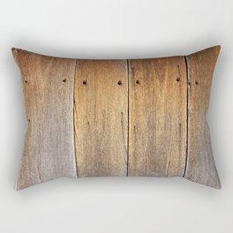 Aged wooden floor Rectangular Pillow