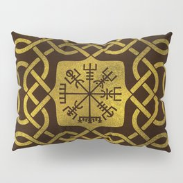 Vegvisir - Viking  Navigation Compass Pillow Sham