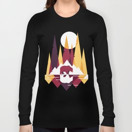 Geometric Bear Long Sleeve T-shirt