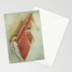 Vintage Red De Soto  Stationery Cards
