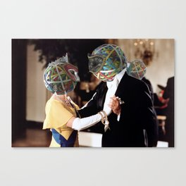 Rubberband Ball Canvas Print
