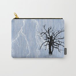 Gnarled Tree and Lightning Carry-All Pouch