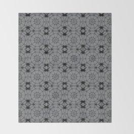 Sharkskin Pinwheels Throw Blanket