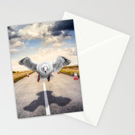SG Heavy coming in hard Stationery Cards
