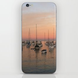 Sunset and Sailboats iPhone Skin